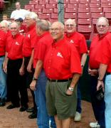Singing at the Kane County Cougars 3
