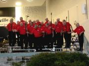 Singing at the Naperville Band Shell
